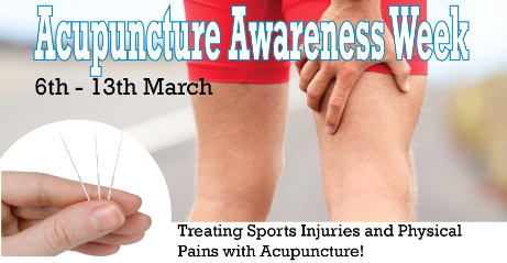 Treating Sports Injuries and Physical Pains with Acupuncture