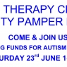 Help raise money for AUTISM OXFORD at our CHARITY PAMPER DAY